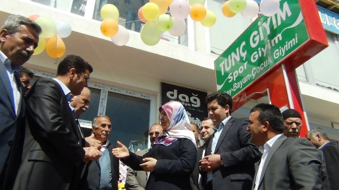 Erciş'te İş Yeri Açılışı