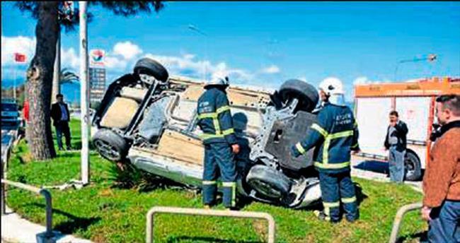 Aydın'daki kazada genç sürücü öldü