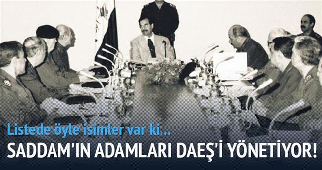 IŞİD'i Saddam'ın adamları yönetiyor
