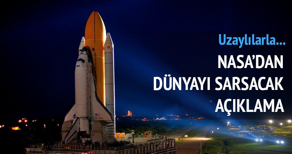NASA'dan dünyayı sarsan açıklama