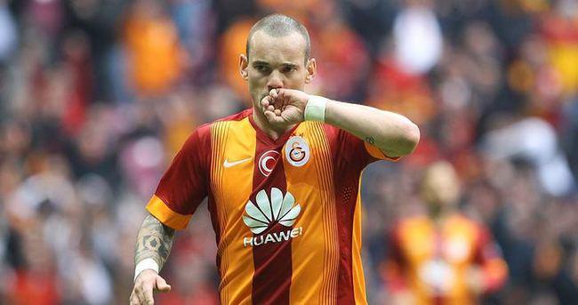 Galatasaray'da Sneijder şoku