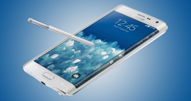 Galaxy Note 5 bu ekranla gelecek!