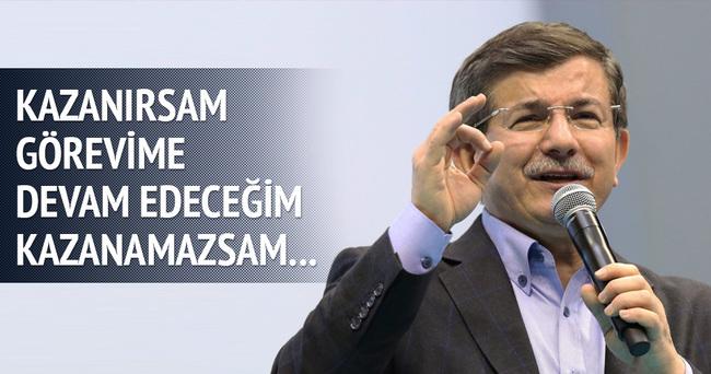 Davutoğlu'dan birbirinden önemli açıklamalar