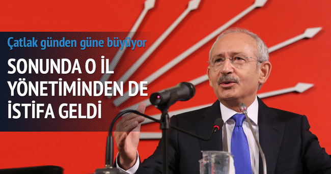 CHP Kars İl Başkanı Mustafa Aras istifa etti