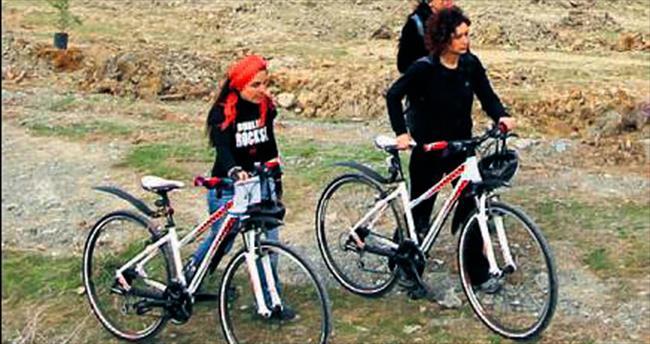 Çankaya'da işe okula bisiklet
