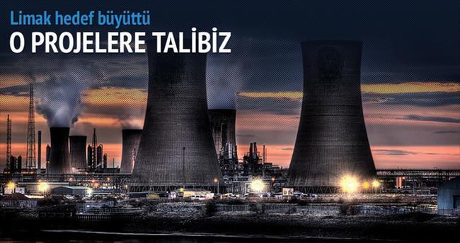 '3 büyük projeye de talibiz'