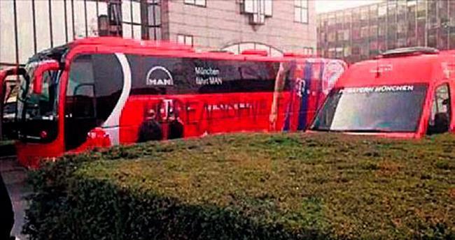 Almanya usulü otobüse saldırı
