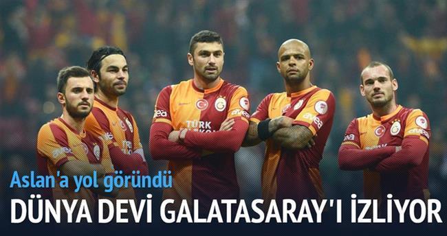 Çinliler Galatasaray'ı izliyor