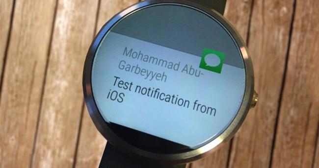 Google, iOS uyumlu Android Wear sürümünü bitirmek üzere