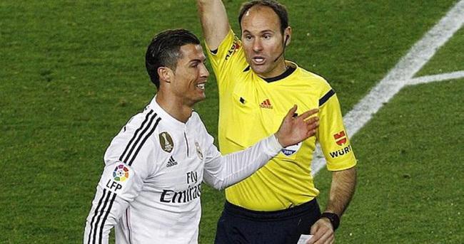 Ronaldo'nun sarı kartı iptal