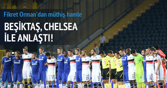 Chelsea geliyor!