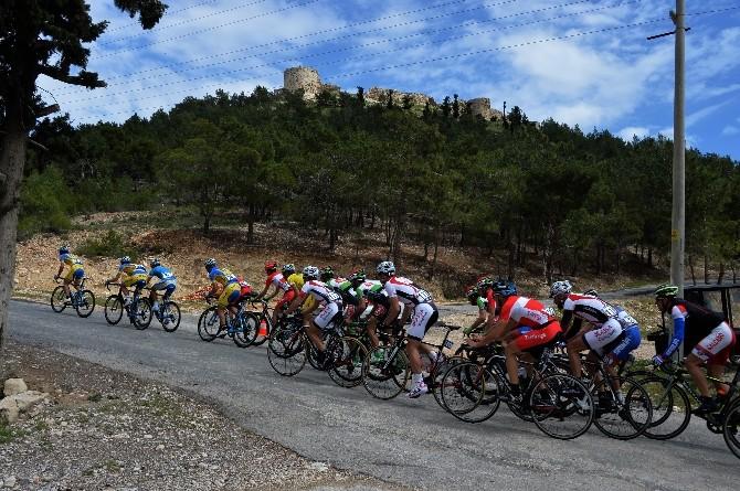 Bisiklet Turu'nun İkinci Etabı Yapıldı