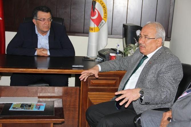 Başkan Kocamaz, Mgc Yönetimi Ziyaret Etti