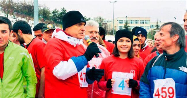 Spor sevdalılarını soğuk hava bile durduramadı