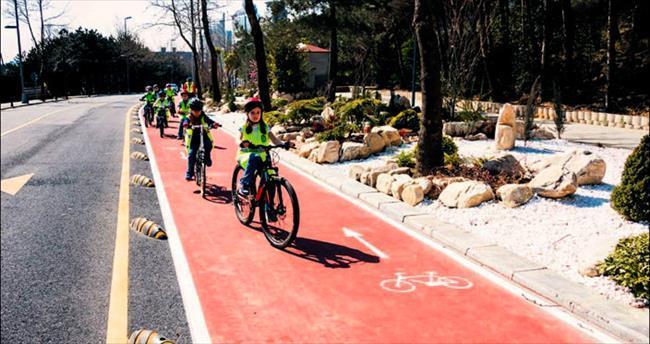 İTÜ'de 'Bisiklet Kent' kuruluyor