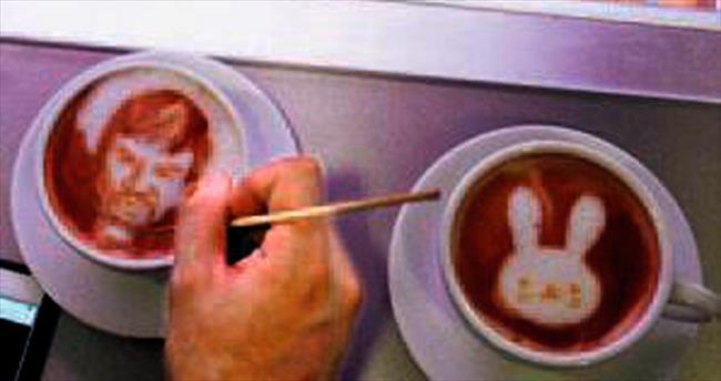 Kahve üstü sanat
