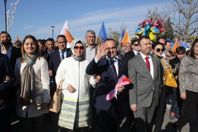 Milletvekili Adayı Turan'a Görkemli Karşılama