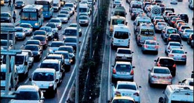 'Motorlu taşıt artışı, nüfus artışının 3 katı'