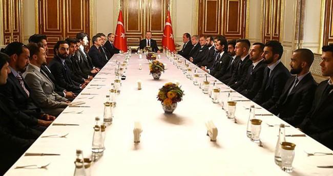 Kaptanlar Cumhurbaşkanı ile görüştü