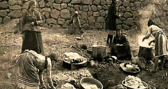 Antalyalı kadınların eski çamaşır günleri