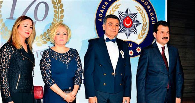 Adana polisinin görkemli gecesi