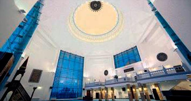 Hoca Ahmet Yesevi Camisi açılıyor