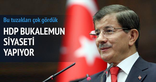 HDP bukalemun siyaseti yapıyor