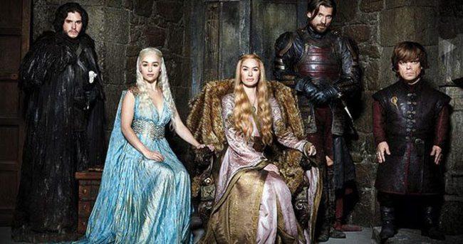 Game of Thrones başlamadan sızdı