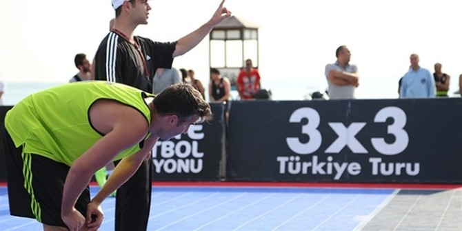 3 X 3 Türkiye Basketbol Turu Kayıtları Başladı