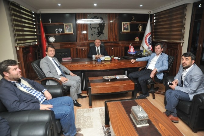 Birkan'dan Başkan Çağlayan'a Ziyaret