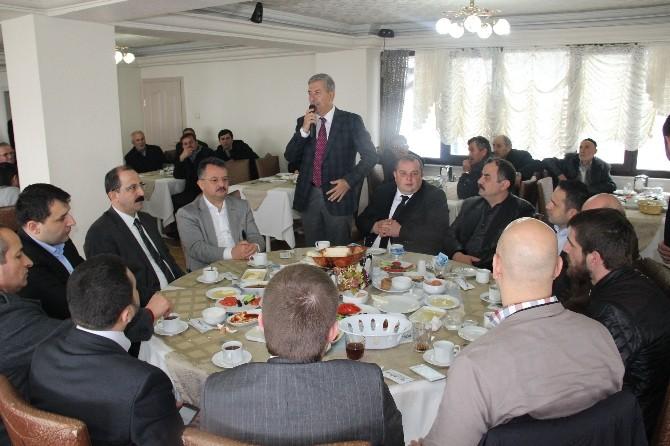 AK Parti Ladik Mahalle Başkanları Toplantısı