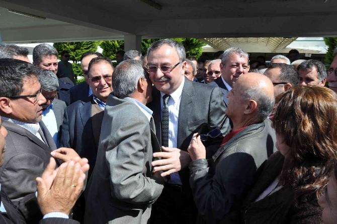 AK Parti Muğla Milletvekili Adayı Hasan Özyer'e Coşkulu Karşılama