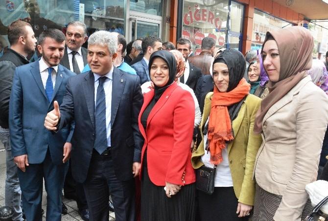AK Parti Trabzon Milletvekili Adayları Seçim Turlarına Başladı