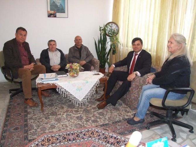 Agc'nin Yeni Yönetimi Ziyaretlere Başladı