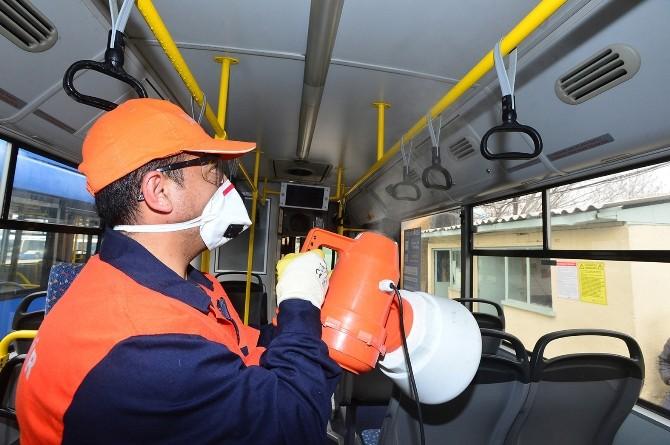 EGO Otobüsleri Her Gün Temizleniyor