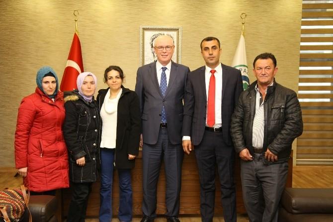 CHP İlçe Teşkilatından Başkan Kurt'a Ziyaret