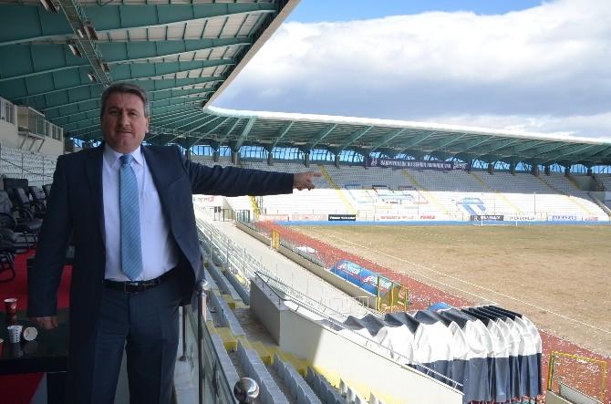 Erzurum Spor Tesisine Doymuyor