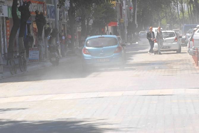 Fethiye Caddeleri Toz Duman