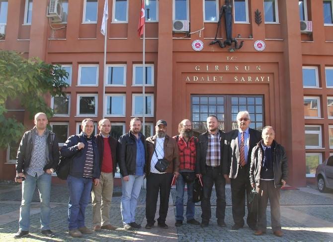 Giresun'daki Gazeteciler İlk Duruşmada Beraat Etti