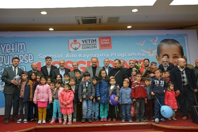 Konya'da Hayırseverler Yetimler İçin Toplandı