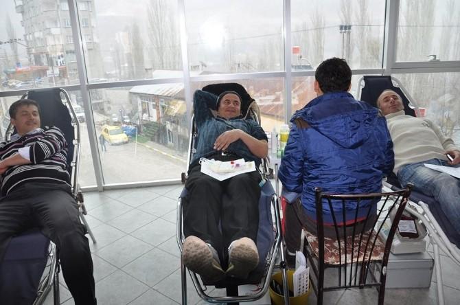 Sarıveliler'de Kan Bağışı Kampanyası