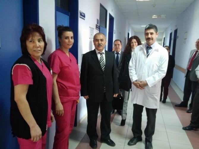 Kaymakam Narinoğlu Devlet Hastanesini Ziyaret Etti