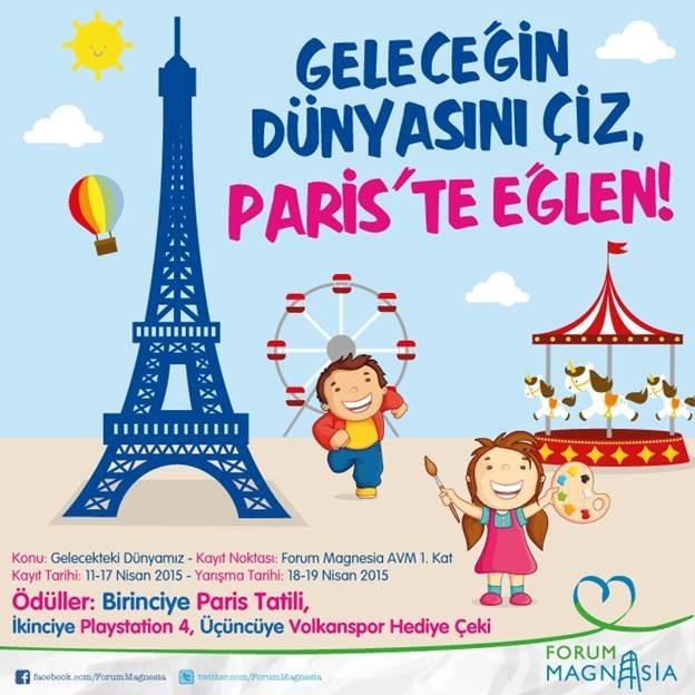Geleceğin Dünyasını En İyi Resmeden Paris'e Gidecek