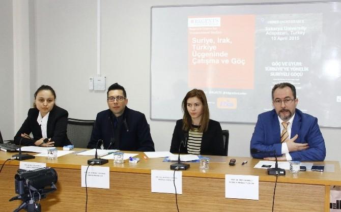 SAÜ'de Türkiye'ye Yönelik Suriyeli Göçü Çalıştayı