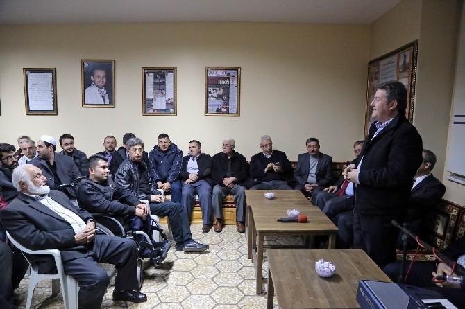 Talas Reşadiye'de Dayanışma Gecesi