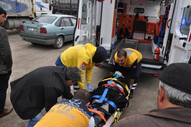Yozgat'ta Tren Kazası: 1 Yaralı