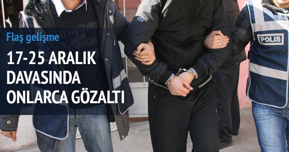 17-25 Aralık operasyonunda çok sayıda gözaltı