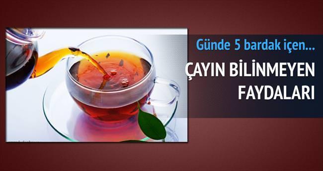 5 ilaç niyetine 5 bardak çay