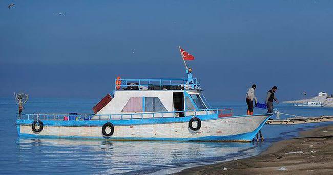 Balıkçılar son kez ağ attı