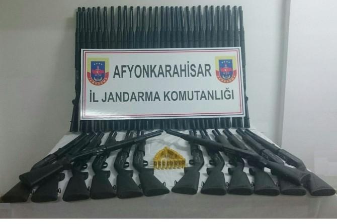 Jandarmadan Silah Kaçakçılarına Yönelik Operasyon